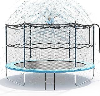 Jasonwell Trampoline Sprinkler for Kids Outdoor Trampoline Sprinkler Waterpark Fun Summer Outdoor Water Games Toys Sprinkl...