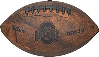 NCAA Vintage Throwback Football, 9-Inches