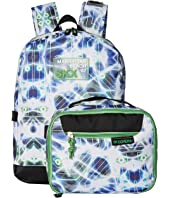 SKECHERS Circuit Break Backpack w/ Detachable Lunch Bag (Little Kids/Big Kids)