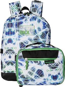 Circuit Break Backpack w/ Detachable Lunch Bag (Little Kids/Big Kids)