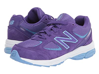 New Balance Kids PK888v2 (Little Kid) (Prism Purple/Team Carolina Blue) Girls Shoes