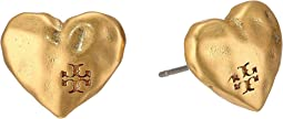 Tory Burch - Heart Stud Earrings