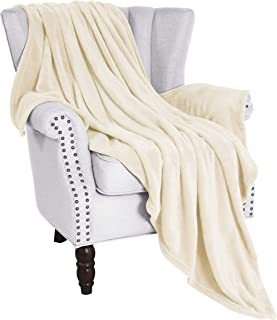 Exclusivo Mezcla Large Flannel Fleece Velvet Plush Throw Blanket – 50