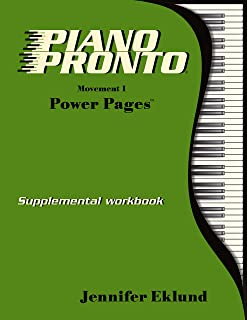 Piano Pronto® Power Pages: Movement 1