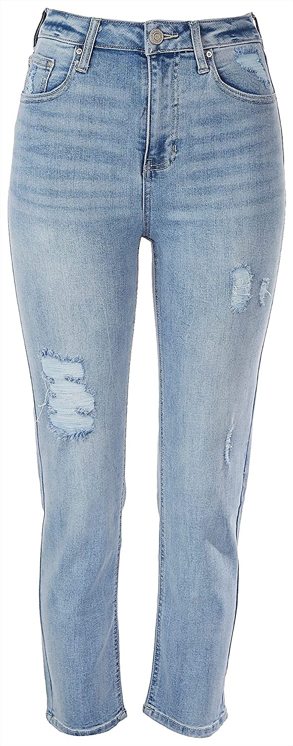 Indigo Rein Credence Juniors Ripped Popular product Recycled Jeans