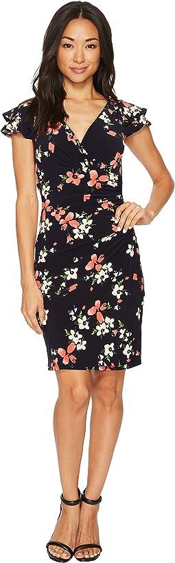 Petite Brisa Kessle Floral Dress