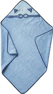 VERTBAUDET Cape de bain bébé Héros masqué BLEU 80X80