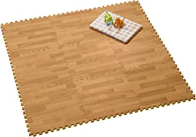 CB JAPAN JOINTMAT Woody 地墊 木紋風格 基本款 30×30厘米 9片裝