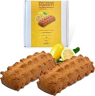 Exquise met natuurlijk aroma van Siciliaanse citroenen   500gr koekjes in een elegante doos   Ambachtelijke productie met ...
