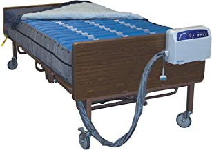 Drive Medical Med Aire Plus Bariatric Low Air Loss Mattress Replacement System, 80