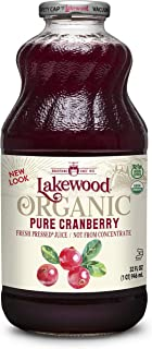 Lakewood Pure Cranberry, Fresh Pressed (32 Oz, 6 Pack)