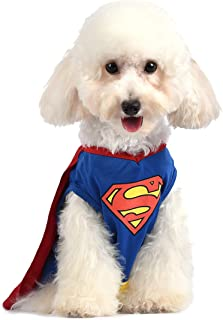 dc comics superman dog costume