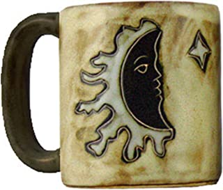 Mara Stoneware Mug - Sun - Moon Tan - 16 oz