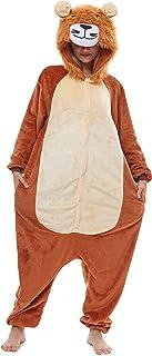 Yutown Adult Animal Costume Onesie Unicorn Halloween Cosplay Pajama Zipper