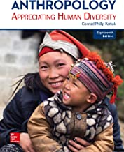 Best anthropology: appreciating human diversity 18th edition Reviews
