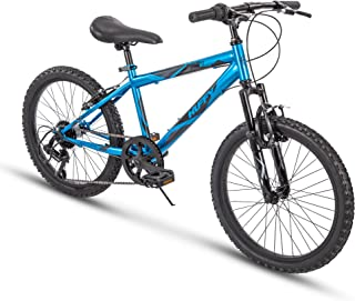 31cf48b842b Huffy Kids Hardtail Mountain Bike for Boys, Summit Ridge 20 inch 6-Speed