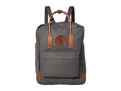Fjallraven Kanken No. 2 (Super Grey) Backpack Bags