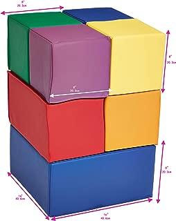 AmazonBasics Soft Play Blocks, Large Set, 7-Piece