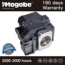 for ELPLP58 Replacement Lamp with Housing for EX3200 EX5200 EX7200 H368A by Mogobe