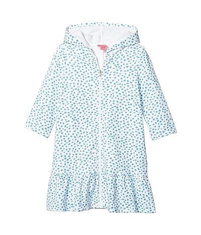 Lilly Pulitzer Kids UPF 50+ Cooke Cover-Up (Toddler/Little Kids/Big Kids) (Zanzibar Blue Lillys Dot Inverse) Girl