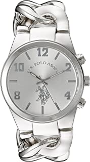 Women's USC40178 Analog Display Analog Quartz Silver Watch