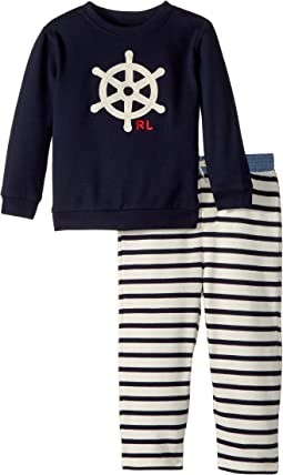 Ralph Lauren Baby - Atlantic Terry Two-Piece Set (Infant)