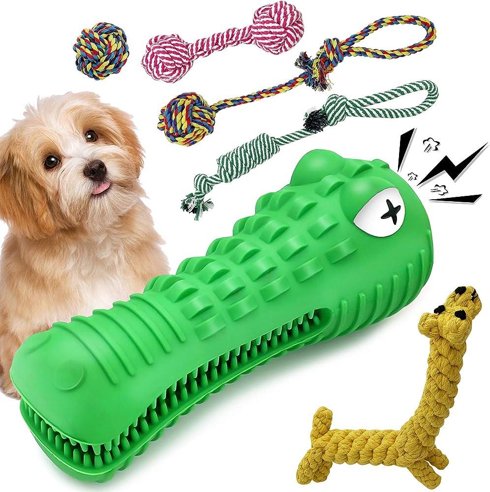 Hightingale, giochi per cani cuccioli, 5 pezzi , indistruttibili