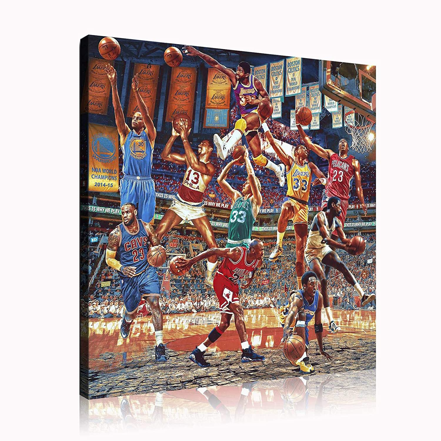 NTEUMM Super Online limited Very popular product sports star big poster collections basketball Room