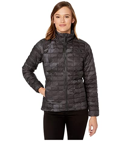 The North Face ThermoBalltm Eco Jacket (TNF Black Waxed Camo Print) Women