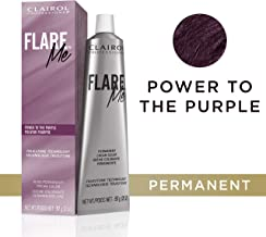 Clairol Professional Flare Me Hair Color, Power To The Purple, 2 Ounce