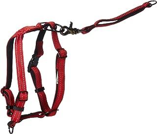 Dog Harness - Non-Pull No-Choke Humane Adjustable Reflective Dog Training Harness, Non Pulling Pet Harness, Easy Step-in Adjustable Harness for Control