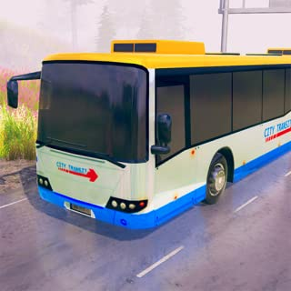 Freeway Offroad Uphill Bus Driving Simulator 3D