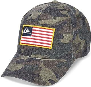 قبعة بيسبول Quiksilver الرجالية GROUNDED AMERICA