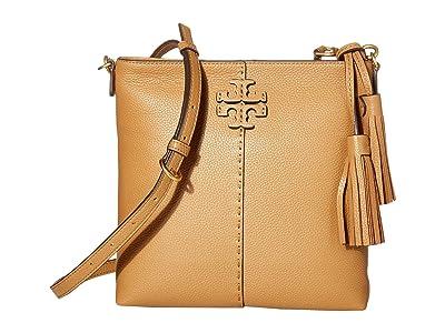 Tory Burch McGraw Swingpack (Tiramisu) Handbags