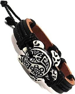 leather turtle bracelet