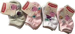 Baby Socks, 12 pares de calcetines de bebé niña de algodón – Modelo corto Fantasmino primera infancia