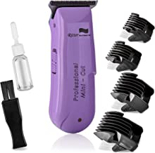 Ritter H&B.C F-1c Zero-Cut Professional Hair Trimmer, Zero Gap Blades for Closest Haircut and Shave, Cordless, Compact, Ideal for Women Bikini Shaving, Bald Men, Stylists and Barbers
