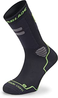Rollerblade Performance Men's Socks, Inline Skating, Multi Sport, Black Silver
