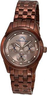 Porsamo Bleu Women's 741DDIS Diana Brown Stainless Steel Watch