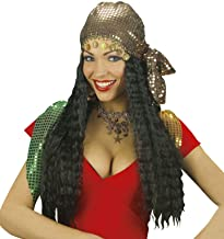 Gipsy withSequin Headscarf Wig for Hair Accessory Fancy Dress