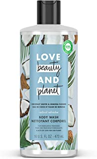 Love Beauty and Planet Coconut Water and Mimosa Flower Body Wash, 566.99 Grams