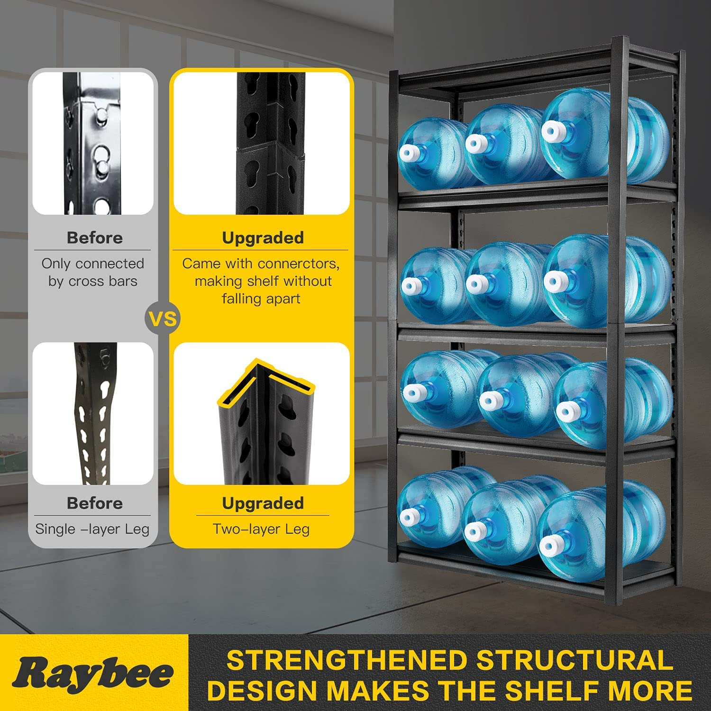 Buy Raybee Garage Shelving Units 20 Tier Heavy Duty Garage Metal ...