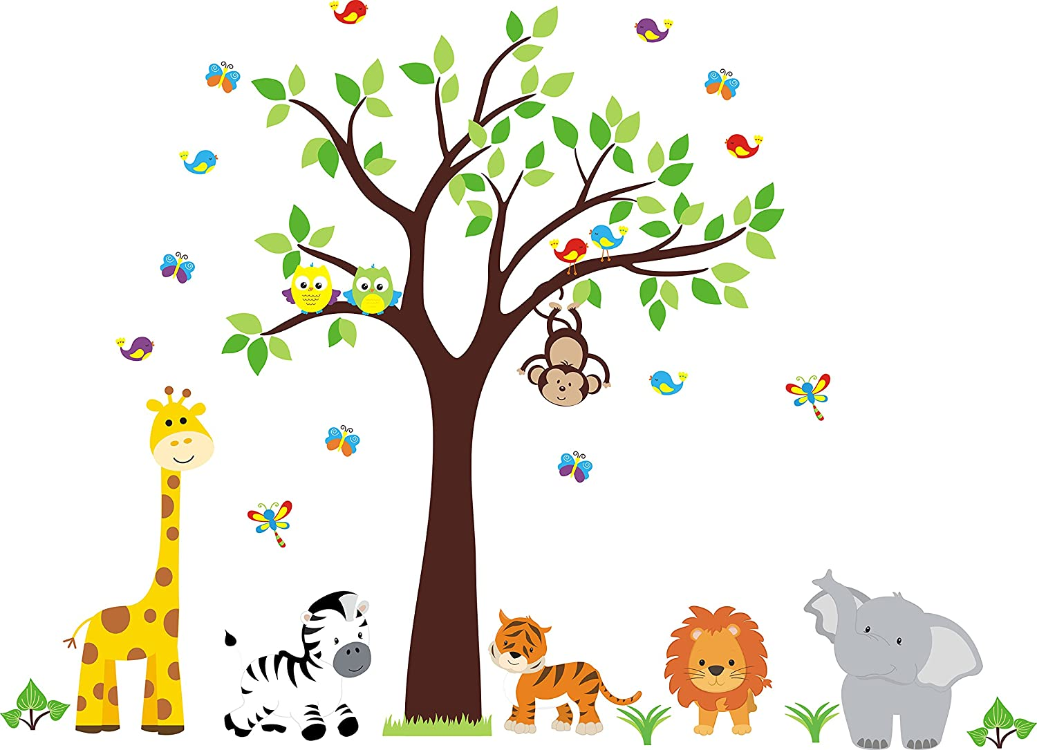 Nursery Wall Decal - 2021 new Kids OFFicial mail order Jungle Room