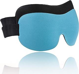 Sleep Mask for Women Men, NEUYILT Block Out Light Soft Sleeping Eye Mask 1/2 Pack