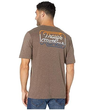 TravisMathew Dollar Menu T-Shirt (Heather Coffee) Men