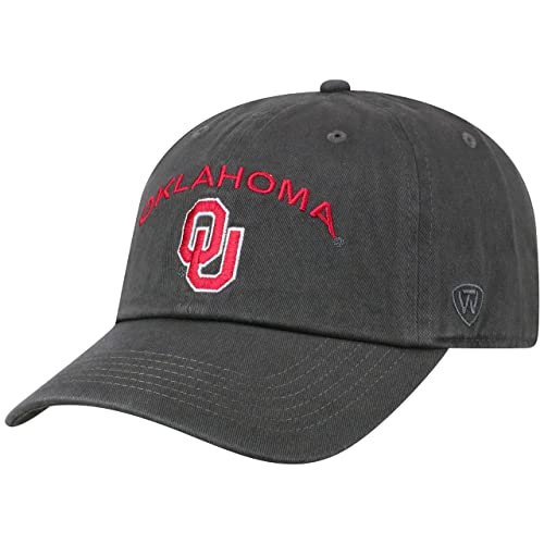 big sale 736cc 09e97 Top of the World NCAA Men s Hat Adjustable Relaxed Fit Charcoal Arch