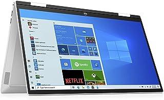 HP Pavilion x360 15-er0236ng (15,6 Zoll / FHD IPS Touch) 2in1 Convertible Laptop (Intel Core i3-1125G4, 8GB DDR4 RAM, 512GB SSD, Intel UHD Grafik, Windows 10, QWERTZ) silber