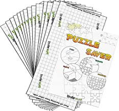 Lavievert Puzzle Saver Peel & Stick Adhesive Paper Jigsaw Puzzle Glue Best Way to Preserve Your Finished Puzzle - 14 Sheets