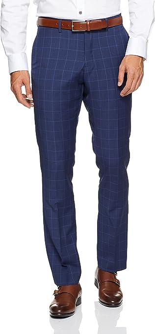 Oxford Men Hopkins Wool Suit Trousers