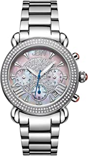 JBW Womens Quartz Watch, Analog Display and Stainless Steel Strap JB-6210-160-C